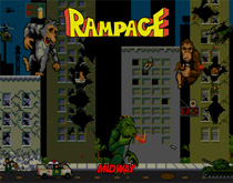 Rampage (1986) - Bally Midway